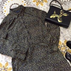 Gap Black and Yellow Dress